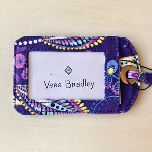 NWT Vera Bradley Iconic Luggage Tag
